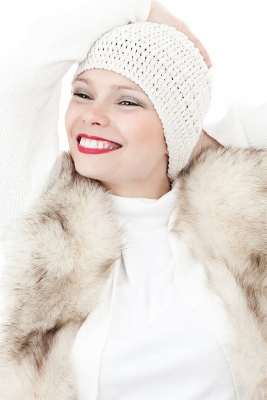 Young pretty lady in Winter 3